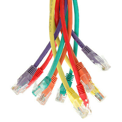 New RJ45 Cat5e Ethernet Network Broadband High Speed DSL PC CCTV Cable Wholesale