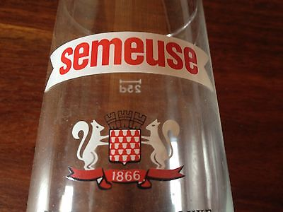 Rare Switzerland Semeuse Brewery Beer 0.25L Glass Swiss Bier Limited Edition