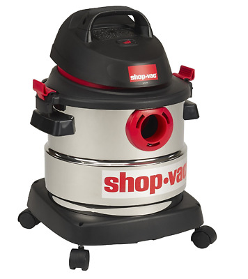 Brand New Shop-Vac 5989300 5-Gallon 4.5 Peak HP Stainless Steel Wet Dry Vacuum