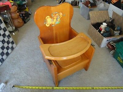 Vintage Holmquist-Swanson, National Champion, Potty, Booster chair. Rare! Nice!