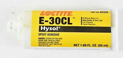 Loctite E-30CL Hysol Epoxy Adhesive Low Viscosity Glass Bonder 50ml 29329