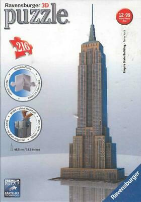 Puzzles & Geduldspiele Ravensburger 125661 Puzzle 3D Empire State Building Night Edition 216 Teile