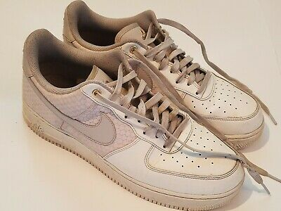 finest selection 48ef4 534d6 Nike Air Force 1 Low White Snake Scales Size 11 USED