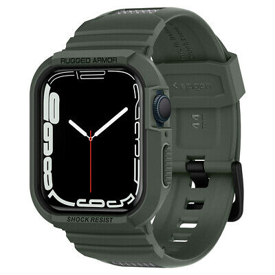 Apple Watch Series 4 (44mm) | Spigen® [Rugged Armor Pro] Protective Case Cover