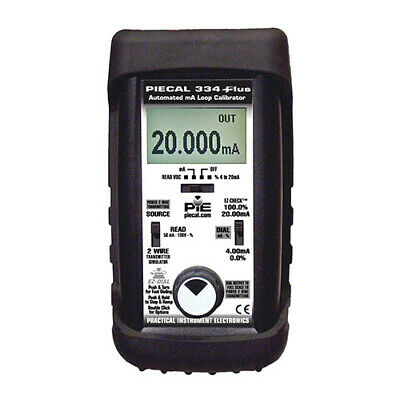 Piecal 334Plus 4-20mA Loop Calibrator w/Additional Features