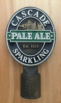 "Cascade Brewery ""SPARKLING PALE ALE"" Metal Tap Top Badge / Decal"