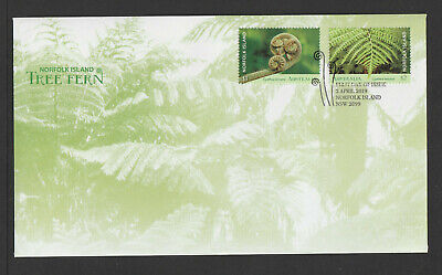 Australia 2019 : Norfolk Island - Tree Fern, First Day Cover. Mint Condition
