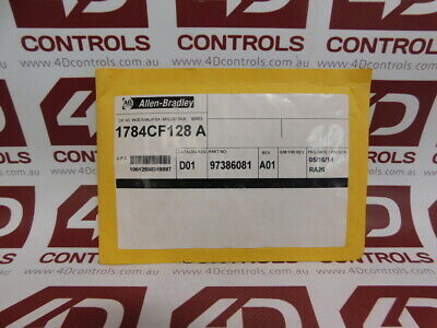 Allen Bradley 1784-CF128 CompactFlash Card 128MB - New Surplus Sealed - Series A