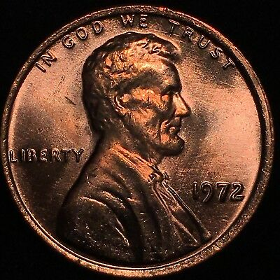 1972 Lincoln Cent Double Die Obverse Gorgeous Ms Red Ddo Gem Magnificent Coin!!!