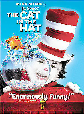 Dr. Seuss' The Cat In The Hat Full Screen Edition Mike Myers Free Shipping
