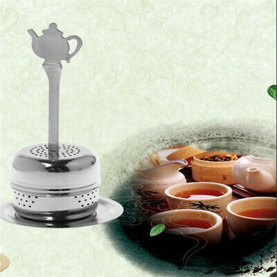 Stainless Steel Loose Leaf Tea Infuser Herbal Spice Diffuser Strainer Filter