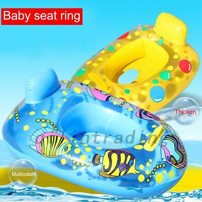 Baby Float Swimming Ring Toddler Childs Inflatable Rubber Swim Ring Boat Seat UK