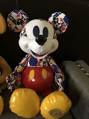 Disney Mickey Mouse Memories Collection March Plush Limited Edition