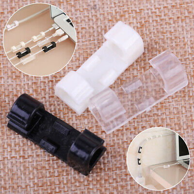 20 pcs Cable Clips Self-Adhesive Cord Management Wire Holder Organizer Clamp