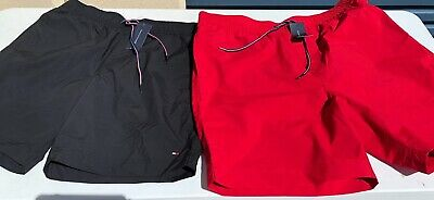 Tommy Hilfiger Mens Swimming Trunks, Shorts, Swimmers, Bathers with Draw String