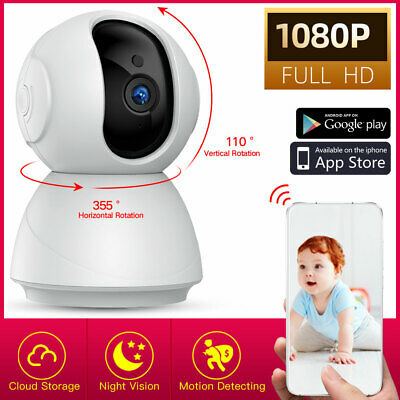 1080P HD Wireless IP Security Camera Indoor CCTV Home Smart Wifi Baby Monitor AE