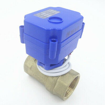 "Motorized Ball Valve Electrical Valve DN25 G1"" 12V 2-wire cr01/3-wires cr02"