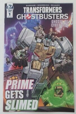WonderCon 2019 Handout IDW Transformers Ghostbusters ASHCAN 1 Ghost of Cybertron