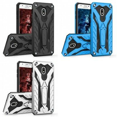 Samsung Galaxy Amp Prime 3 STATIC Case DUAL LAYERED Armor With Kickstand