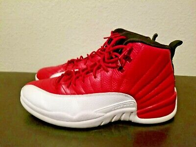 e17953d58035d7 2016 NIKE AIR Jordan Retro XII 12 Alternate Gym Red White Black Size ...