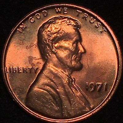 """1971 Lincoln Cent Double Die Obverse Ddo """"Wicked Nice"""" Gorgeous Rare Ms Gem 101"""