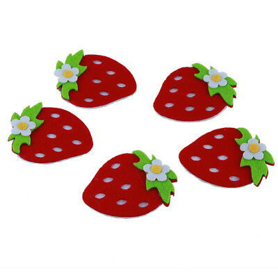 Watermelon Strawberry Non-Woven Wall Decals Sticker Kids Bedroom Kindergarten D