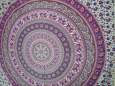 Indian Ombre Mandala Hippie Tapestry Wall Hanging Bedding Bedspread Ethnic Throw