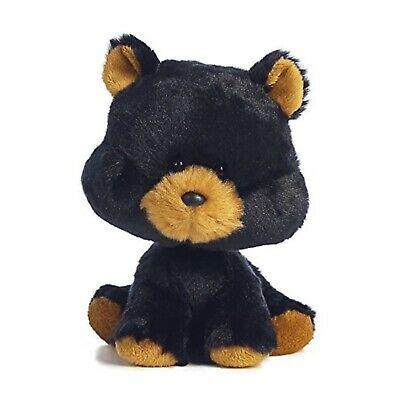 6 Black By Inch Aurora Stuffed Bear Wobbly Bobblees Animal Plush OPXZuki