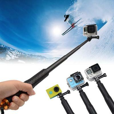 Portable Monopod Tripod Selfie Stick Pole for Gopro Hero 4 3+ 3 2 Action Camera