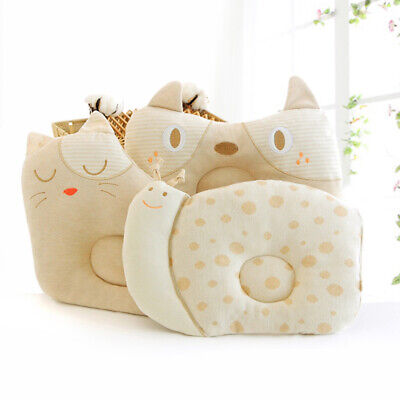UK Baby Newborn Infant Pillow Memory Foam Positioner Prevent Flat Head Anti Roll