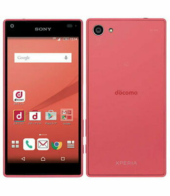 Used Docomo Xperia Z5 Compact SO-02H Pink Sony Unlocked Android Smartphone F/S