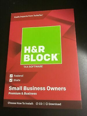 H/&R Block Tax Software Deluxe 2017 Federal for Windows and Mac OS Sku IR6.6094