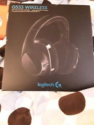 a7153a9f4f9 LOGITECH G533 WIRELESS DTS 7.1 Surround Gaming Headset 15 Hour ...