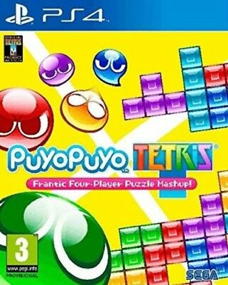 Puyo Puyo Tetris (PS4)  BRAND NEW AND SEALED - IN STOCK - QUICK DISPATCH