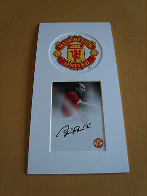 Bobby Charlton Genuine signed authentic autograph UACC / AFTAL