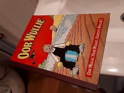The Oor Wullie Annual 1974 1975 Dudley D Watkins , Excellent Book