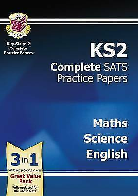 KS2 Complete SATS Practice Papers Pack: Science, Maths & English (for the New Cu