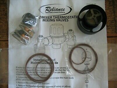 Reliance Euromixer Thermostatic Mixing Valves Service Kit 520-548-0156