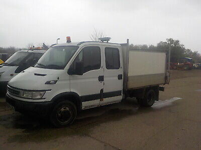 IVECO DAILY TIPPER  with high sides