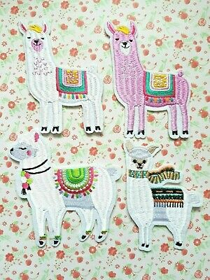 Zebra Iron On Patch Motif Applique Badge Kids Motif Can Sew Animal Africa P372