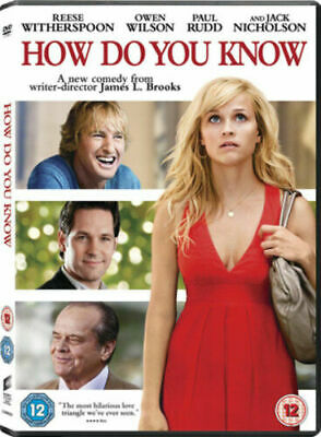 How Do You Know DVD (2011) Reese Witherspoon New