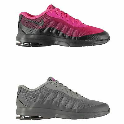 GIRLS NIKE AIR MAX INVIGOR GS 749576 601 Hot Pink and Black