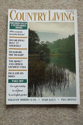 Country Living Mar 87 - David Bellamy, Arts & Crafts, Aldeburgh, Mary Keen Hares