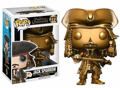 Jack Sparrow goldfarben #13842 Funko POP Pirates of the Carribean