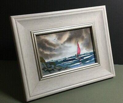 NEW Framed Original Painting (9x7 Frame, 6x4 inch painting) by Bill Lupton