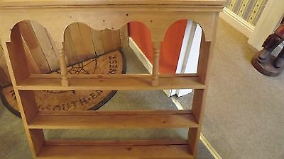 Reclaimed Pine Plate Rack,excellent condition,