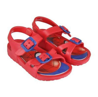 Boys Spider-man Red Summer Strap Sandals Kids Beach Sea Shoes Aqua Shoe Marvel