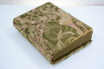 Antique 1800s French Photo Album, Photography, 73 Pictures Inside - Military Etc