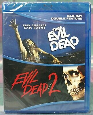 The Evil Dead / Evil Dead 2 (Blu-ray Disc) 2-DISC! Sam Raimi, Bruce Campbell NEW