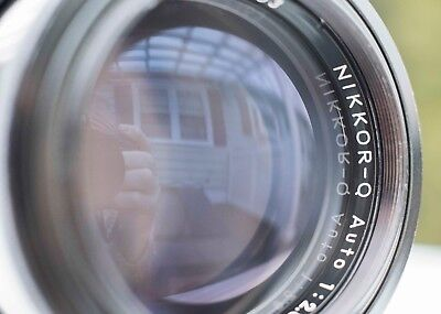 Excellent Nikon AI Converted 135mm f2.8 Q Auto with Perfect Glass